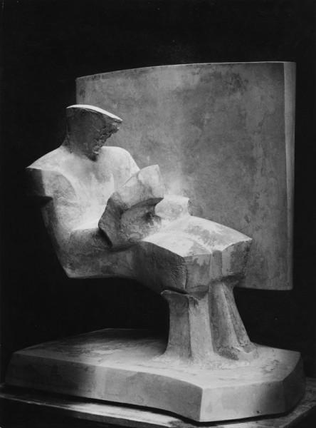 238. Uomo che legge - Ritratto di Han Coray